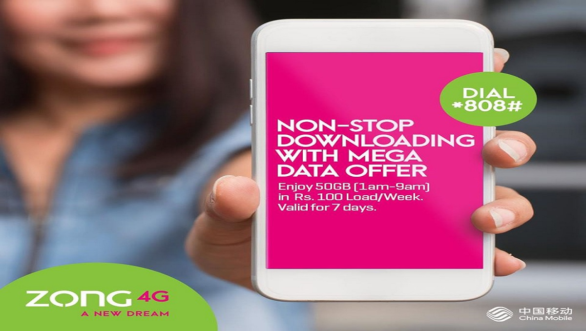 Stay Connected this Ramzan with Zong Mega Data Offer!