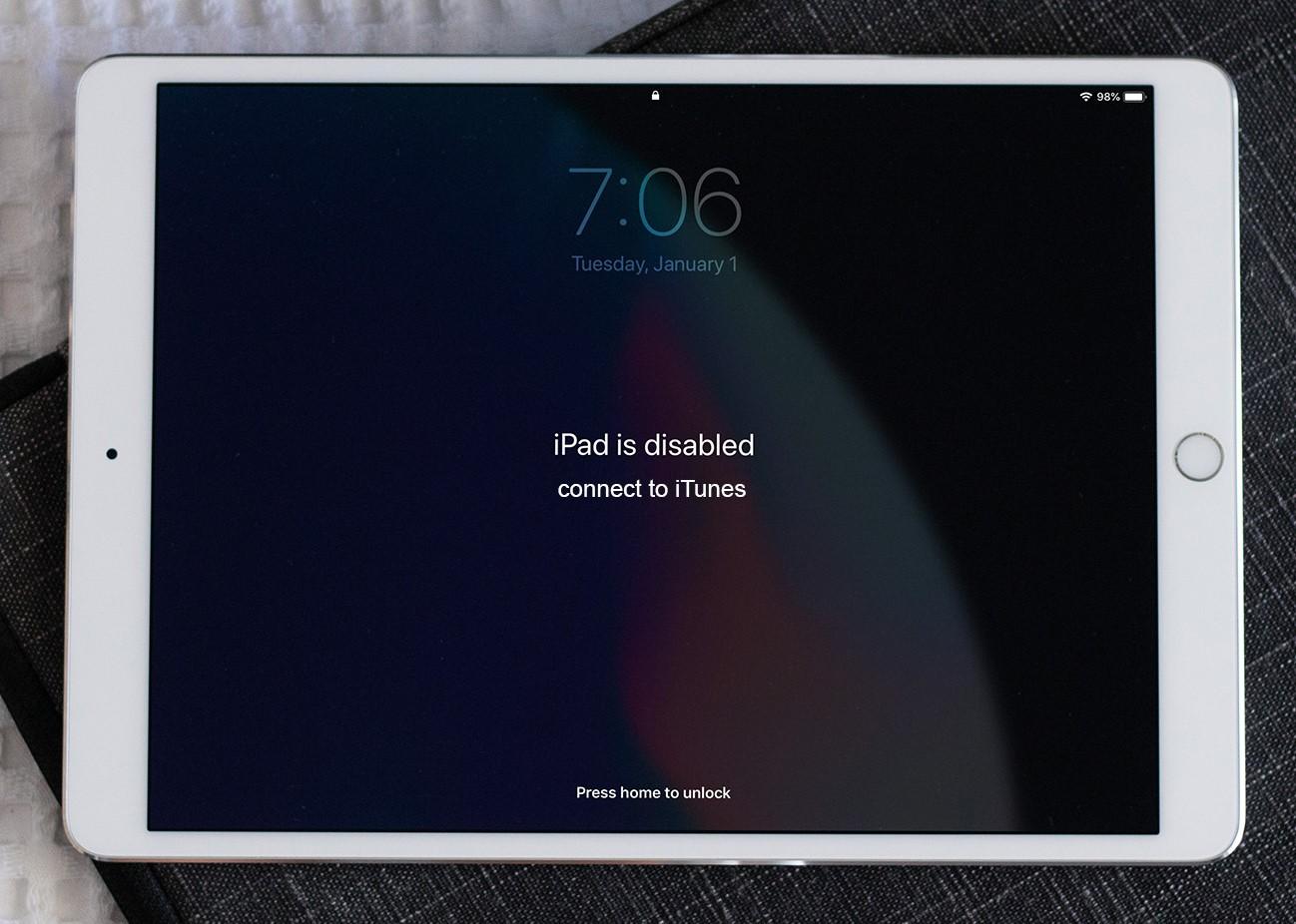 Disabled iPad