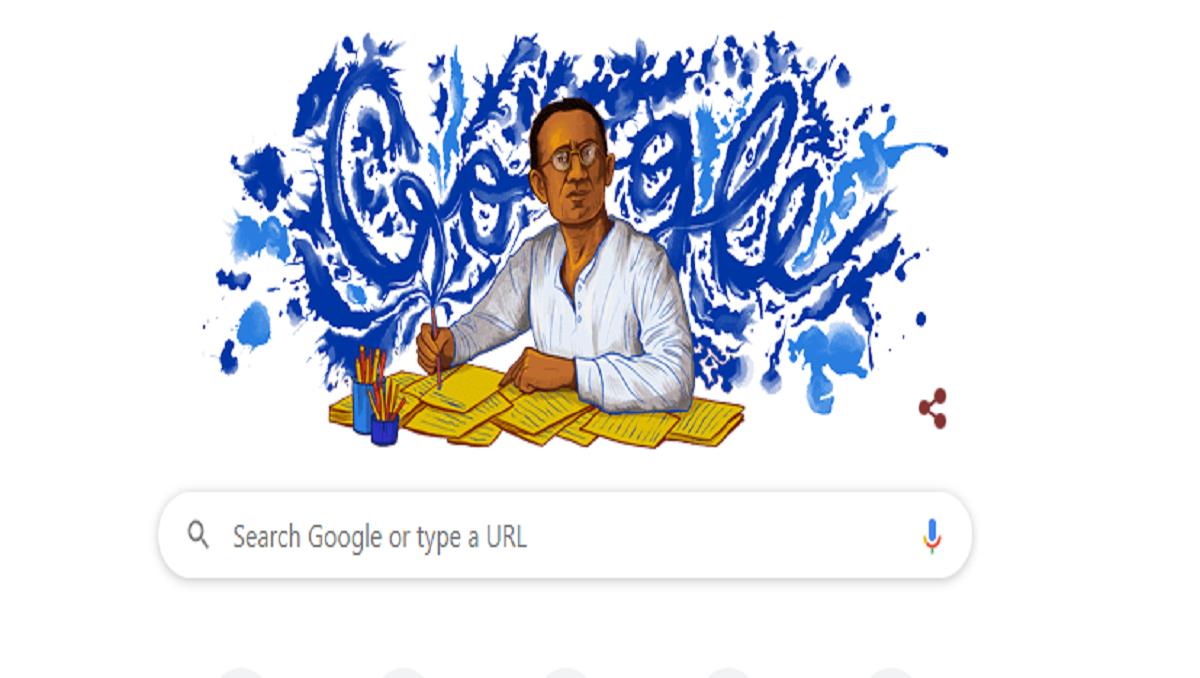 Google Celebrates Saadat Hassan Manto's 108th Birthday with Doodle