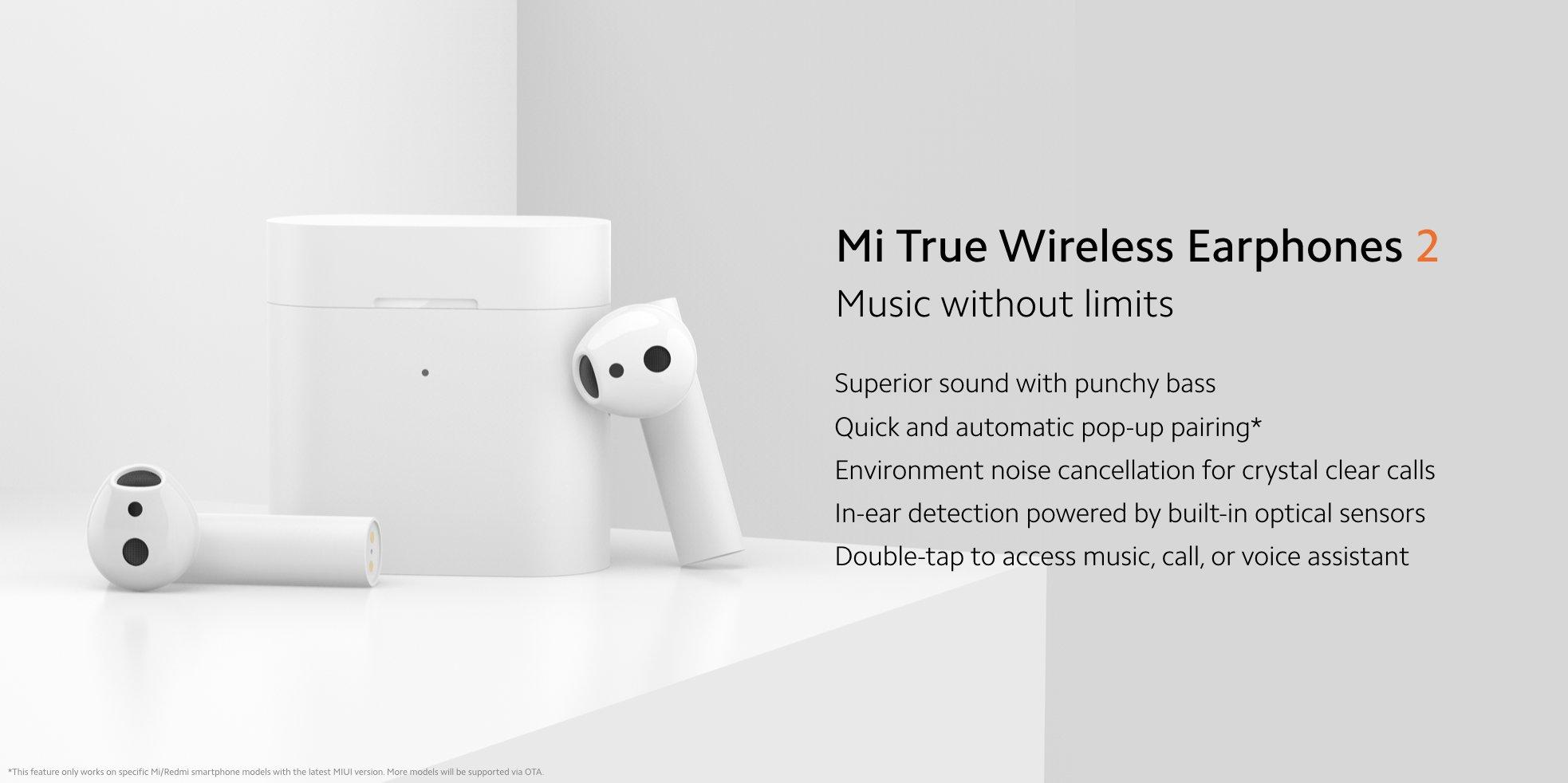 Xiaomi Mi Wireless Earphones 2