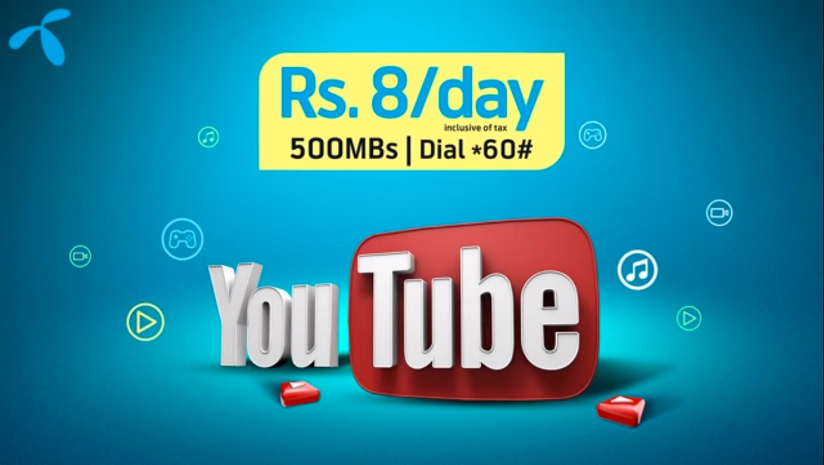 Photo of Now Enjoy the Ultimate Video Experience Through Telenor YouTube Bundle