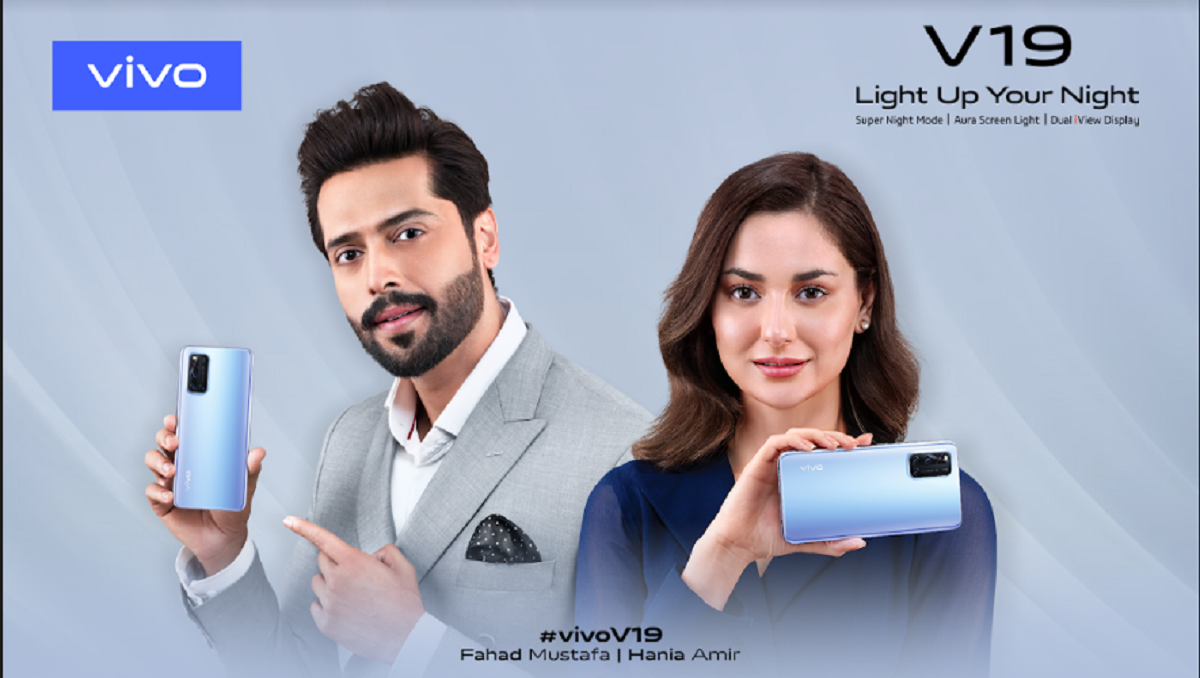 Fahad & Hania Join Vivo as the Brand Ambassadors for V19