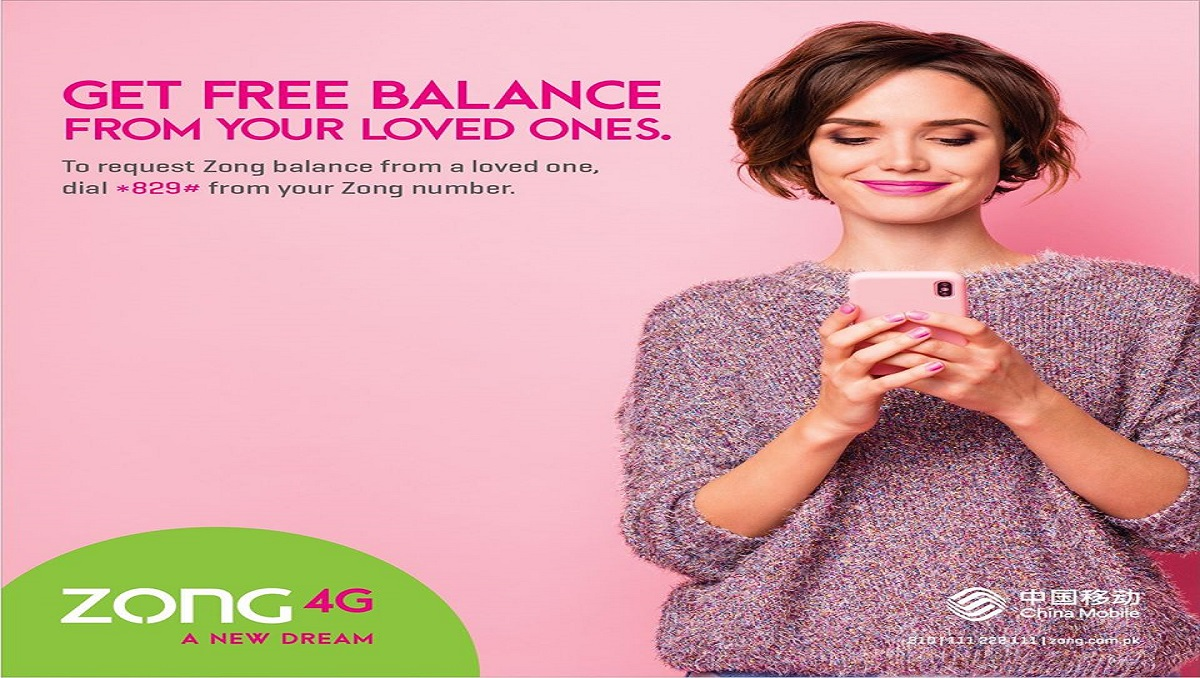 Be There for One Another with Zong Balance Share