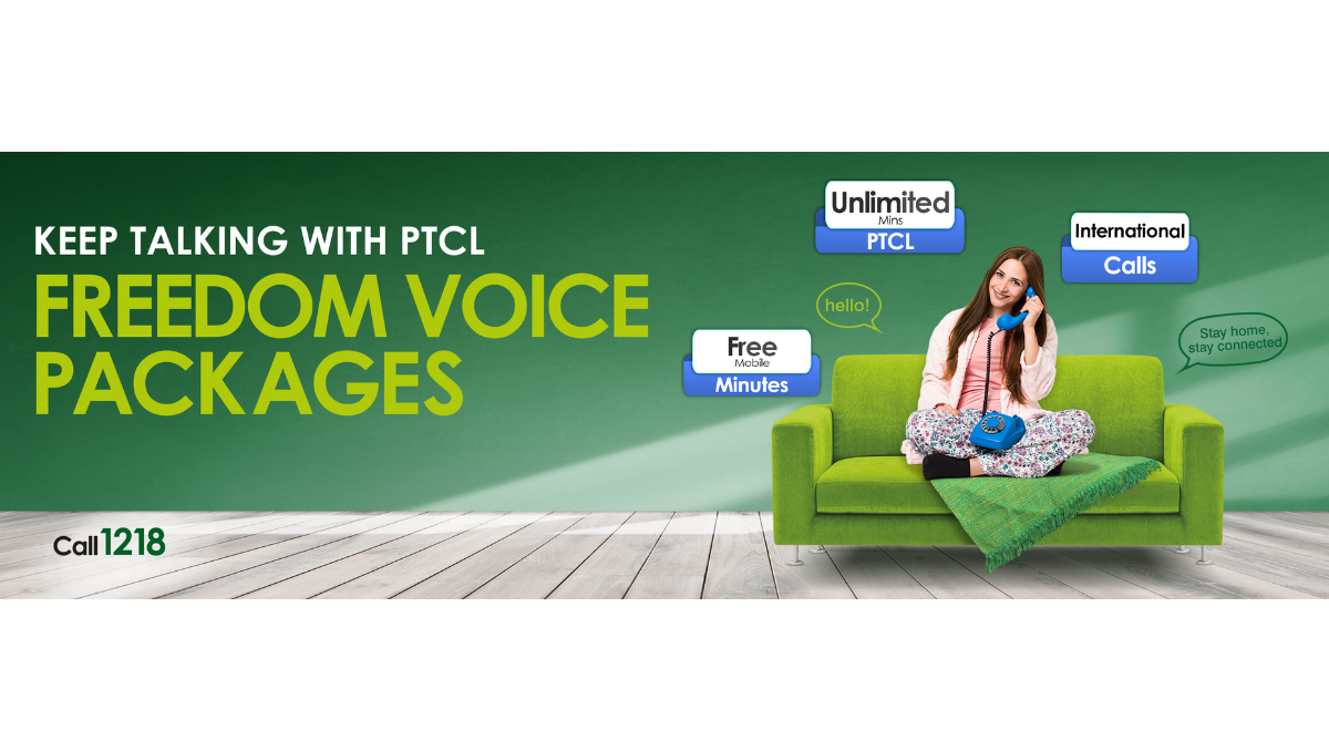 Photo of PTCL Special Voice Packages to keep you Connected with your Loved Ones!