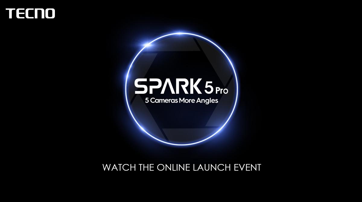 TECNO Spark 5 Pro launch