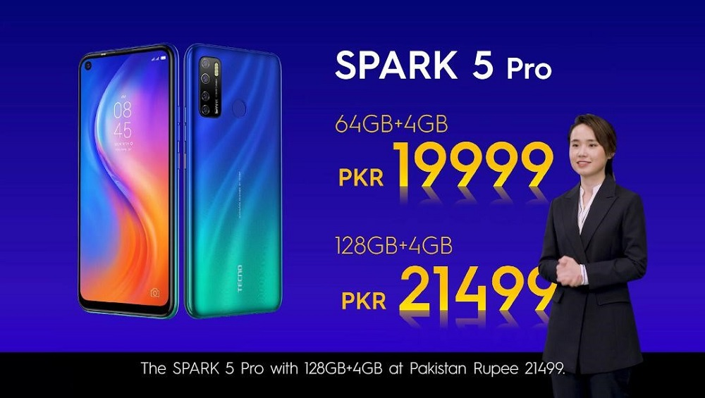 """TECNO Launched SPARK 5 Pro: 5 Cameras, 5000mAh Battery & 6.6"""" HD Display"""