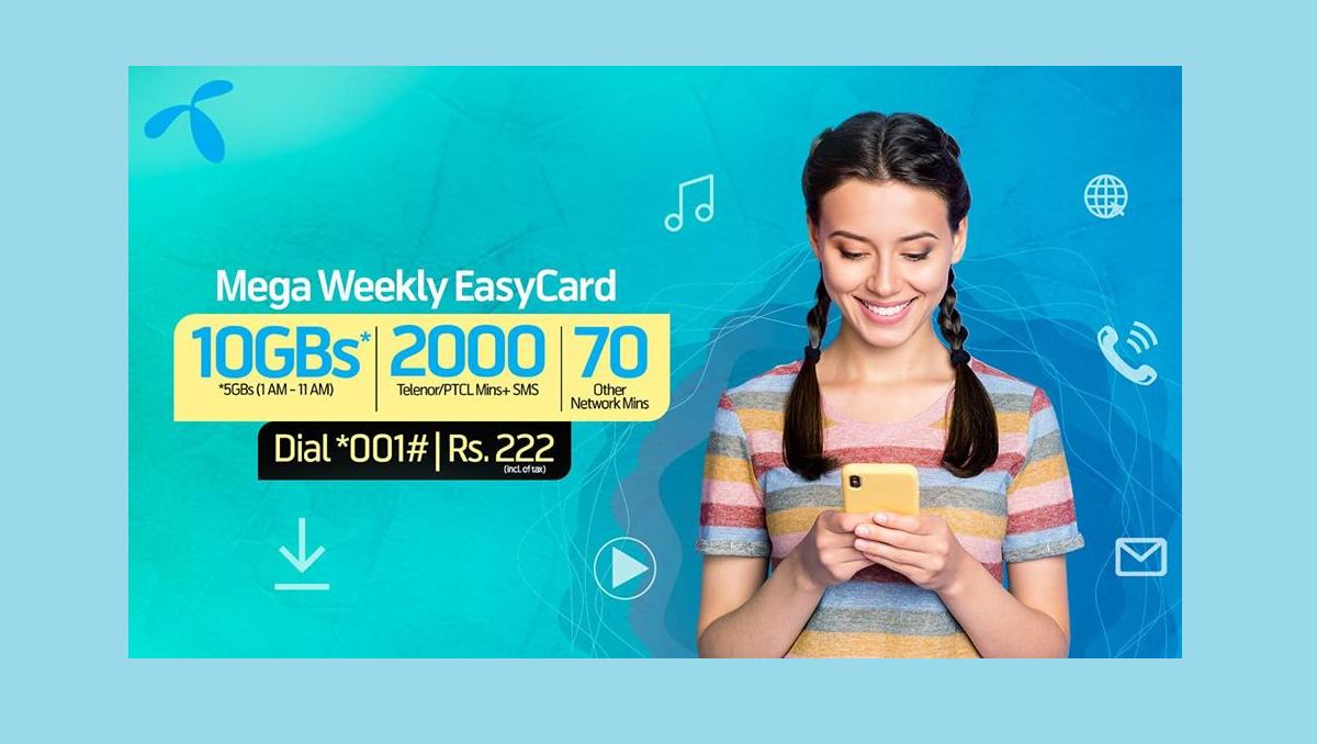 Telenor Mega Weekly Easycard