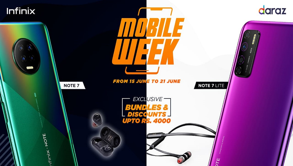 Infinix Daraz Mobile Week