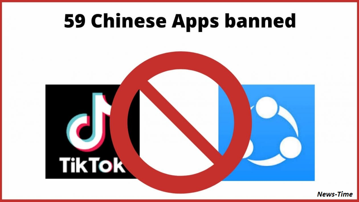 Government of India Banned 59 Chinese Apps