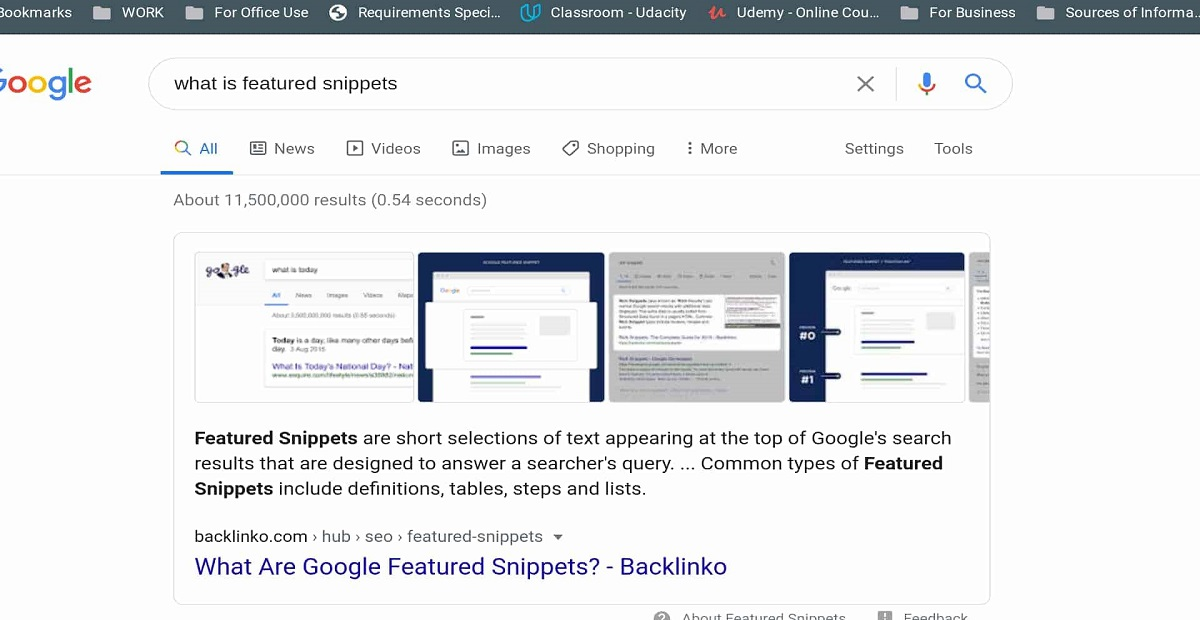 Now get Highlighted Text through Google Snippet Feature