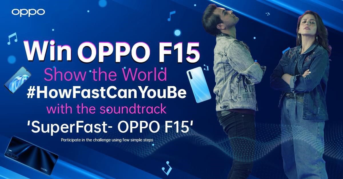OPPO's #HowFastCanBe hits 70M+ views as TikTokers join the Bandwagon to win OPPO F15