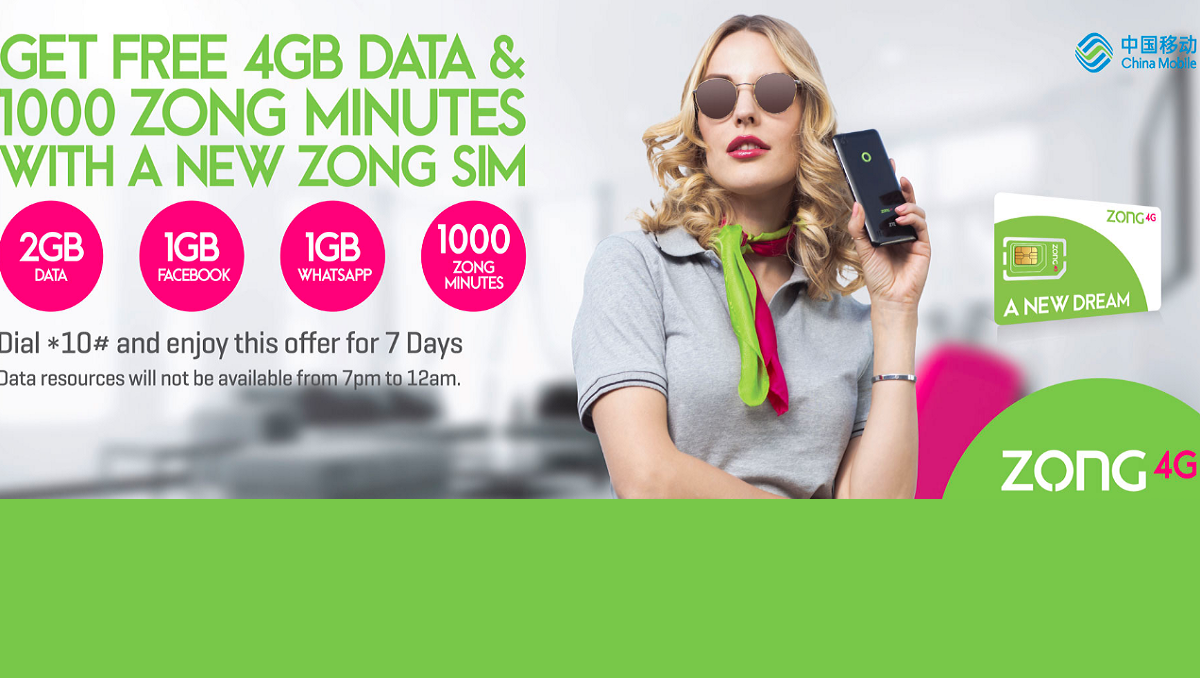 New Zong SIM Offer