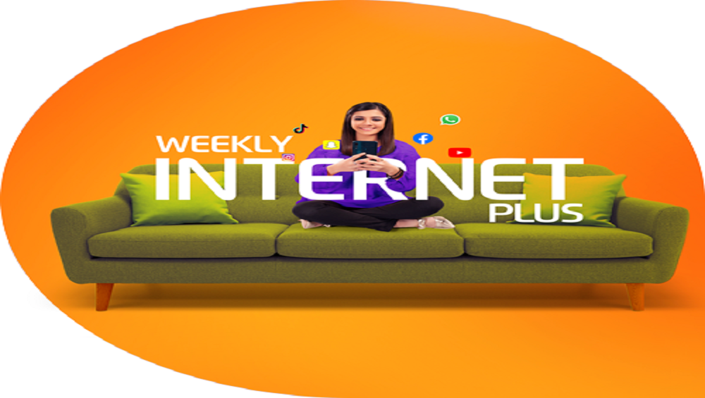 Now Get Double Internet with Ufone Weekly Internet Plus