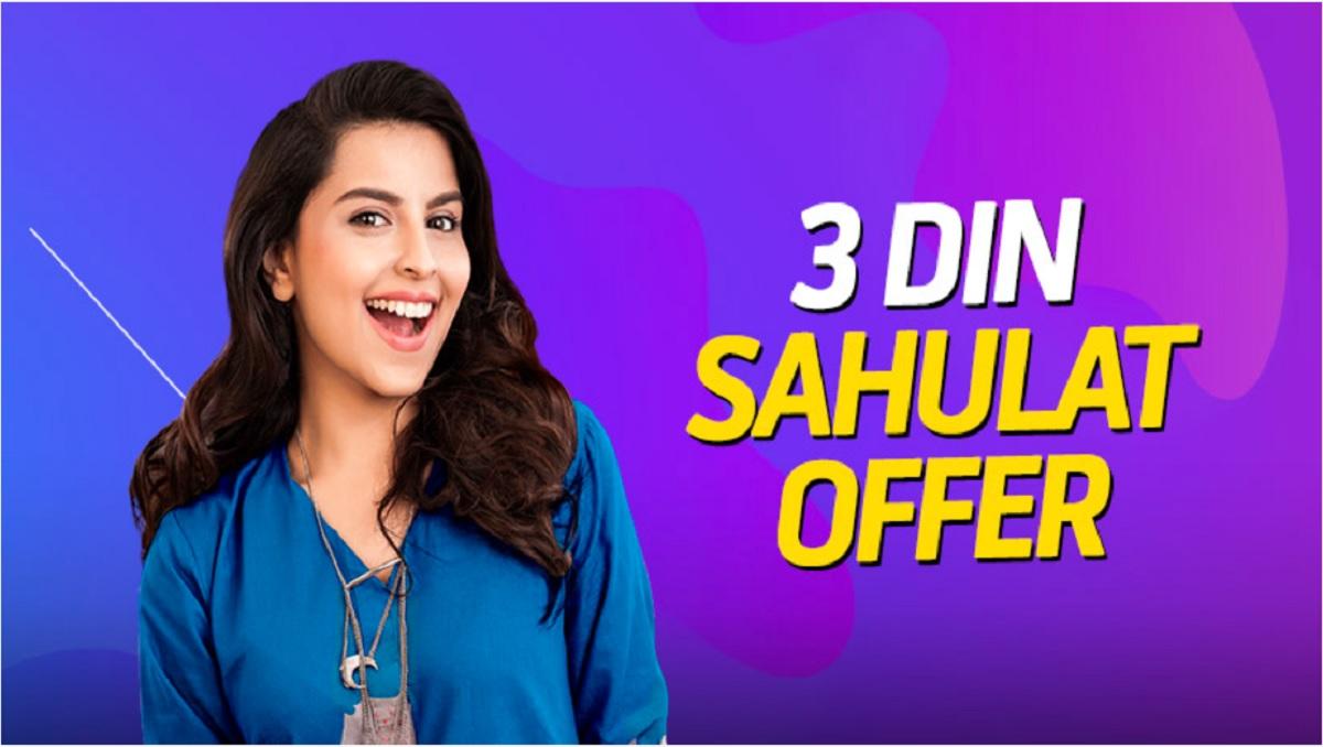 Telenor 3 Day Sahulat offer