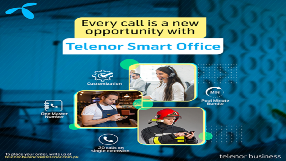 Telenor Business Now Brings You 'Telenor Smart Office'