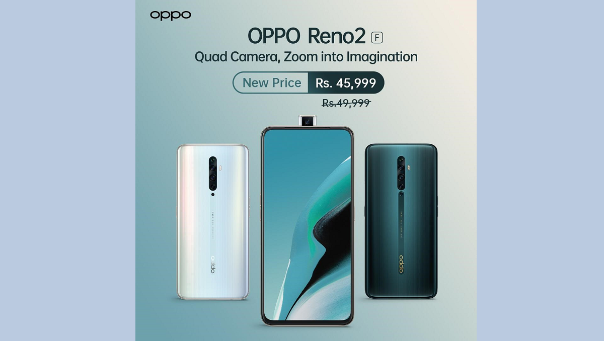 OPPO Reno 2F Discounted Price