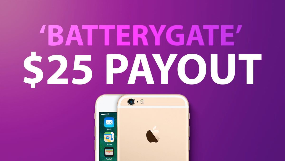 Photo of Apple Announces to Pay $25 to Each iPhone User Experiencing 'Batterygate'