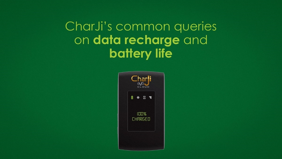 CharJi's Common Queries on Data Recharge and Battery Life
