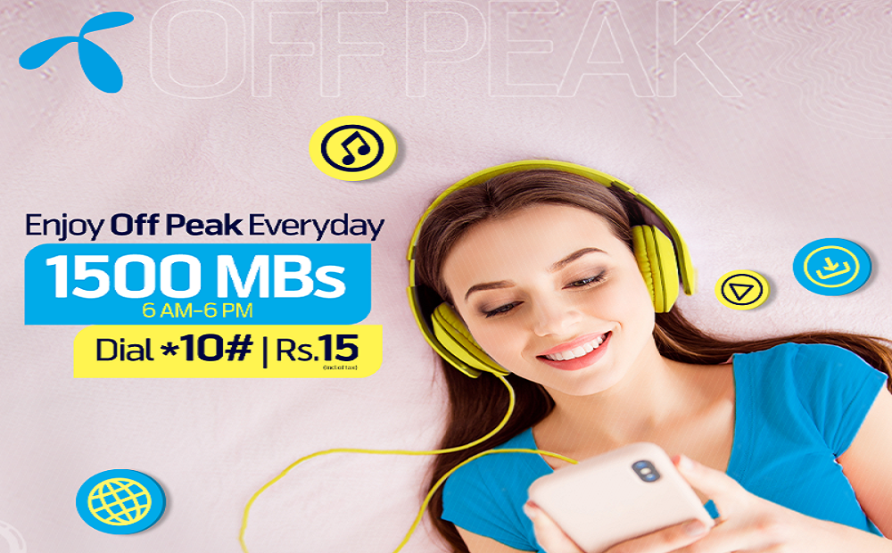 Enjoy More Se Zyada Socializing with Telenor Weekly Off Peak Package