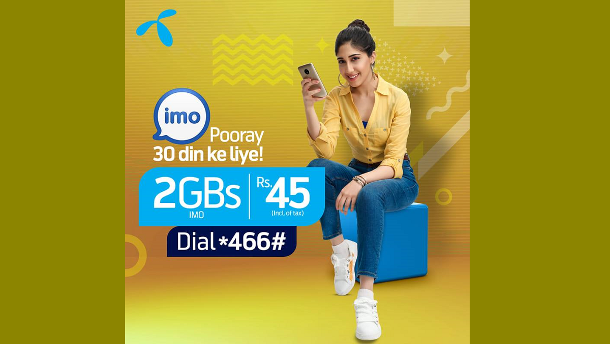 Photo of Telenor Monthly IMO Bundle is Available in Rs. 45