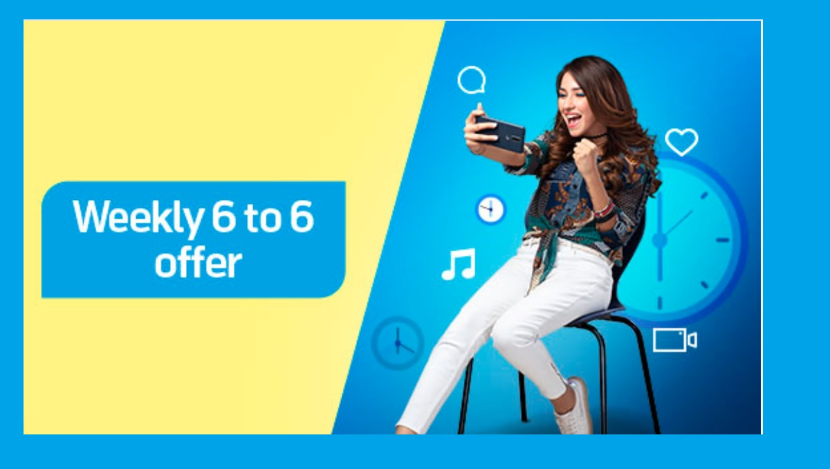Photo of Telenor Weekly 6 to 6 Offer is Available in Just Rs. 55