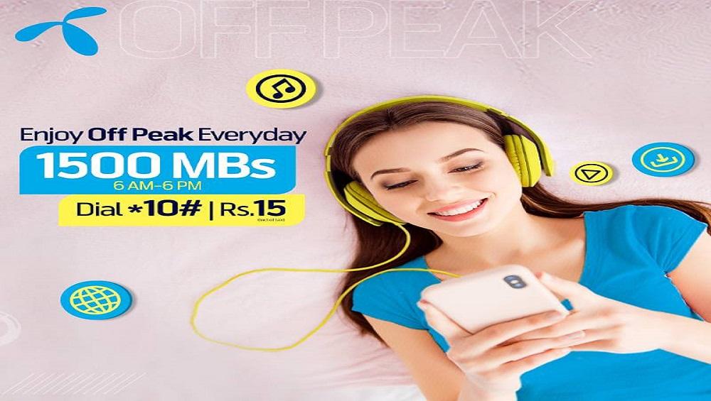 Enjoy Your Telenor Off-Peak Everyday