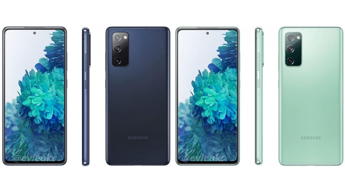 Galaxy S20 Fan Edition Colours