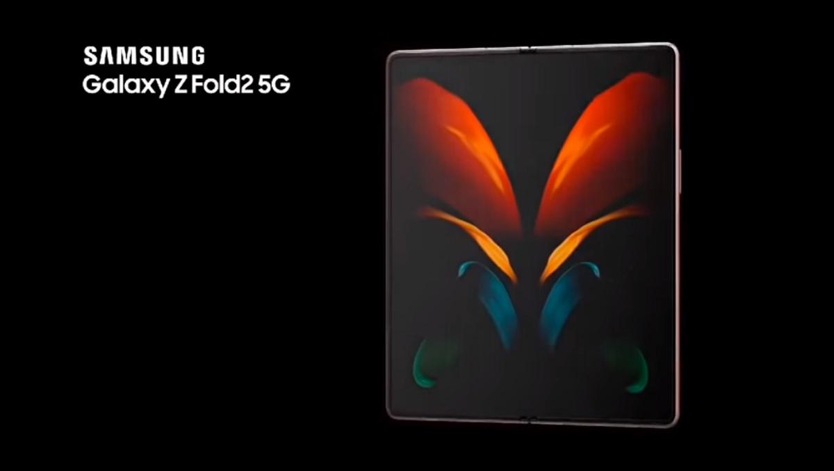 Galaxy Z Fold2 5G ad