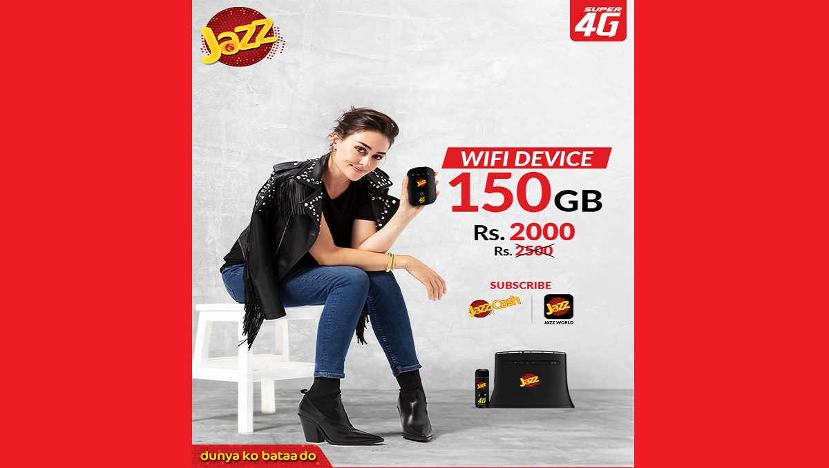 Jazz 150GB Data Offer