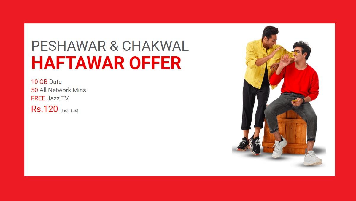 Jazz Peshawar Haftawar Offer