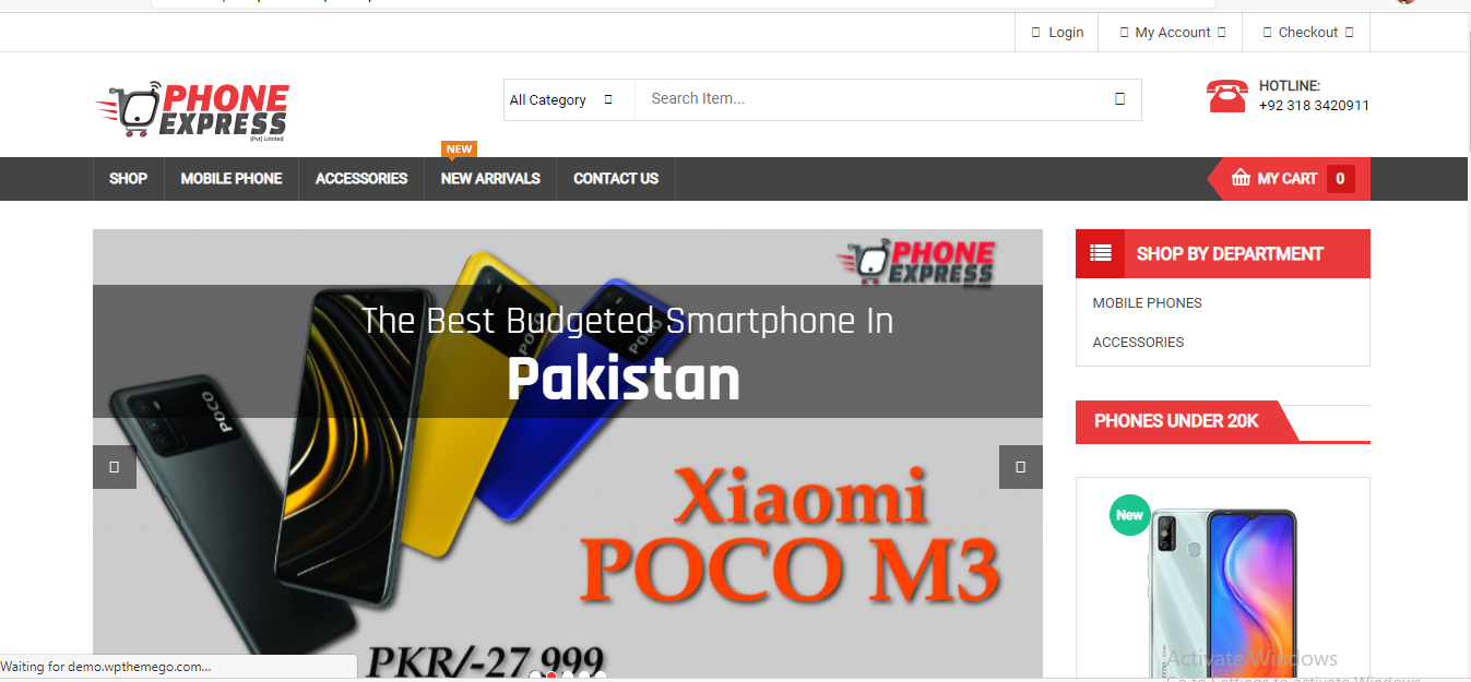 Best online mobile shop in pakistan