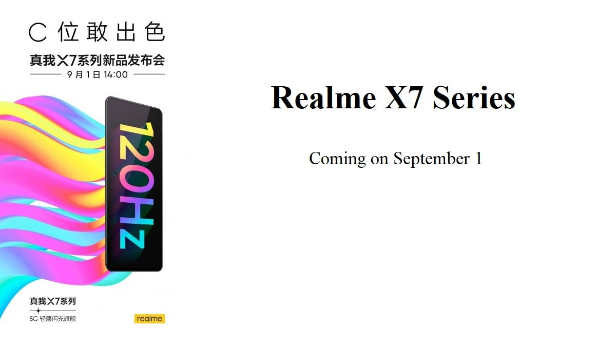 Realme X7 Series Launch