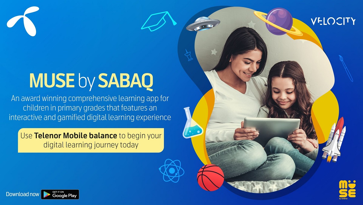 Telenor MUSE: The Learning App for Primary Grades