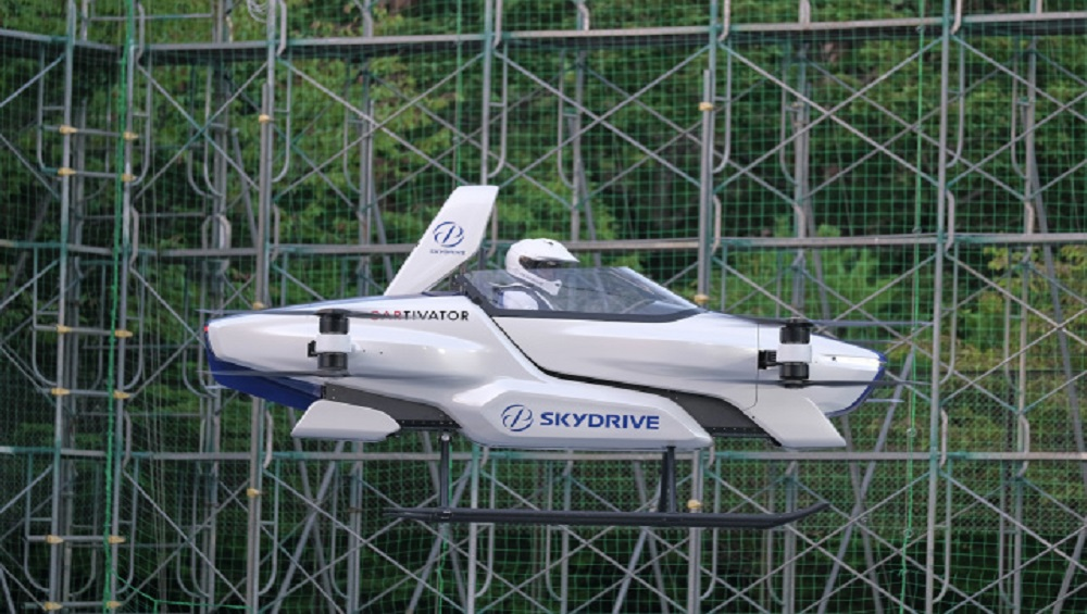 Toyota Flying-Car Conducts a Test Flight Publicly