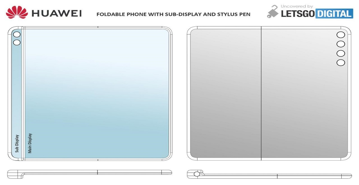 Huawei Foldable Phone to Include Sub Display Strip and Stylus