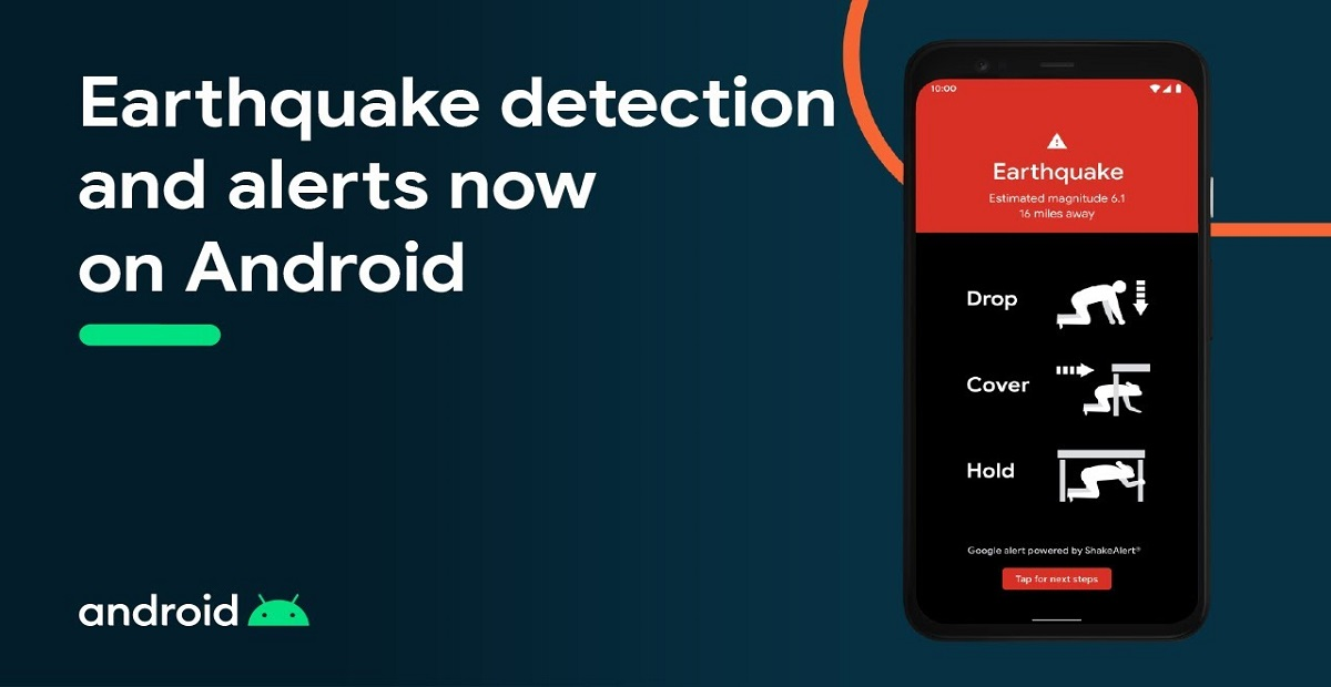 Now Android phones will Detect Earthquakes