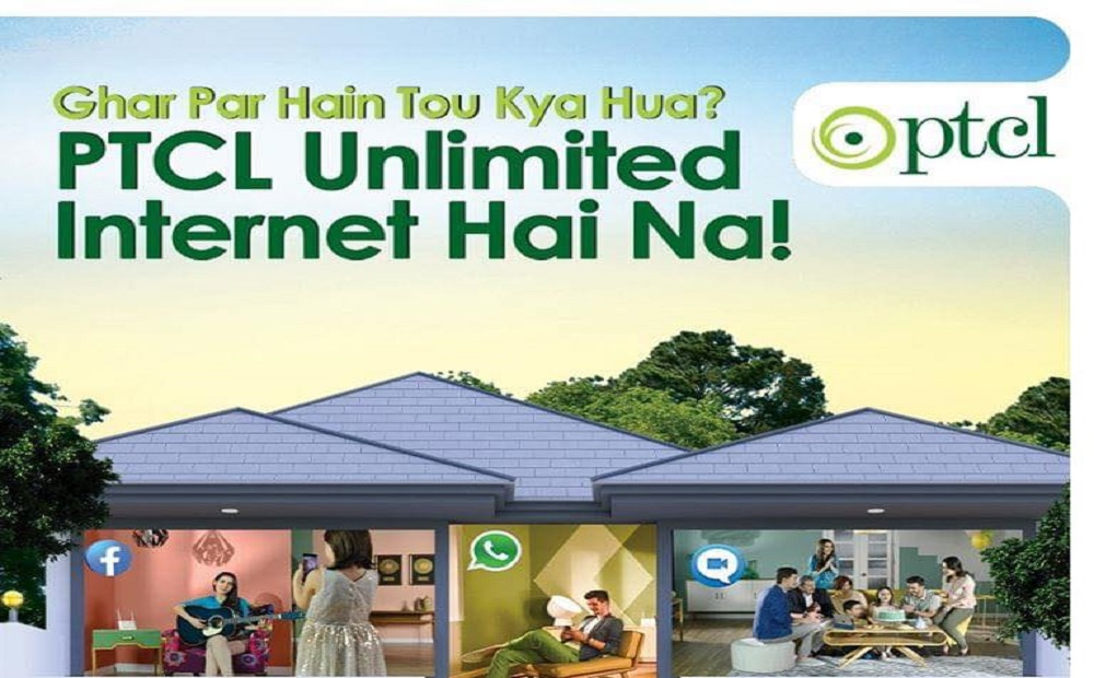 Kill your time at Home with PTCL Unlimited Internet Packages