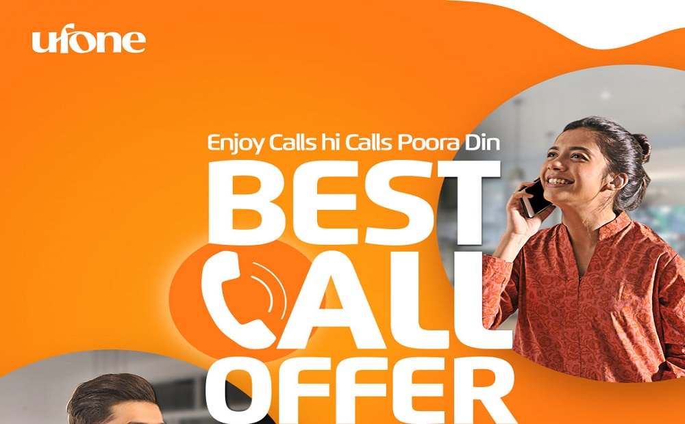 Enjoy Long Calls for Rs. 6 with Ufone Best Call Offer