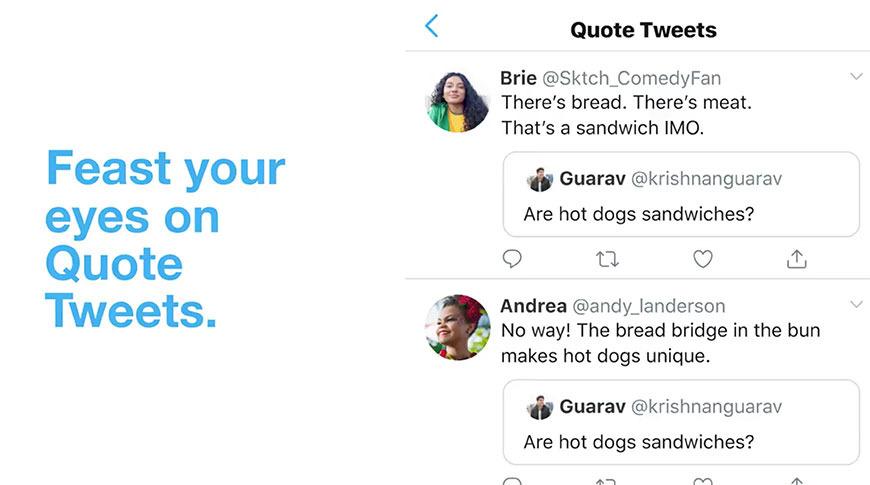 quote tweets