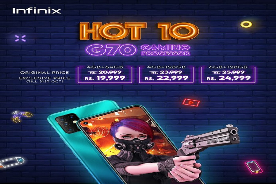 Photo of The wait is over; Infinix Hot 10 is available now for pre-orders