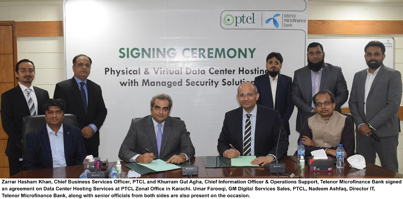 Photo of Telenor Microfinance Bank selects PTCL to expedite the bank's  Digital Transformation journey