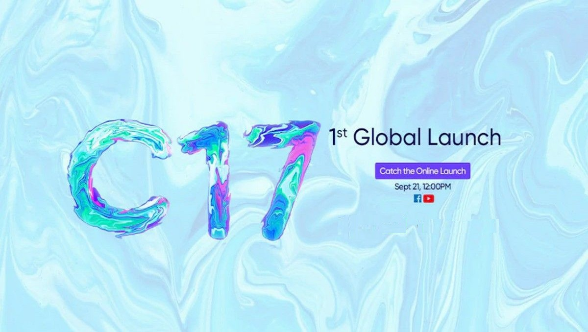 Realme C17 Global Launch