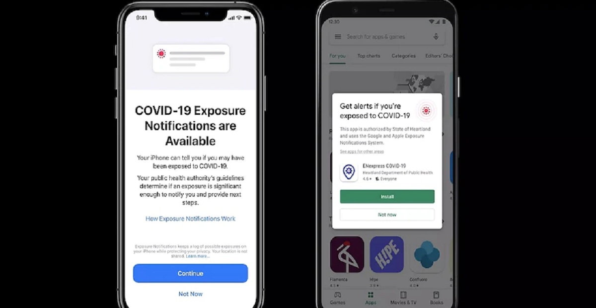 Google, Apple Begin Rolling Out Built-In COVID-19 Exposure Notifications to Phones