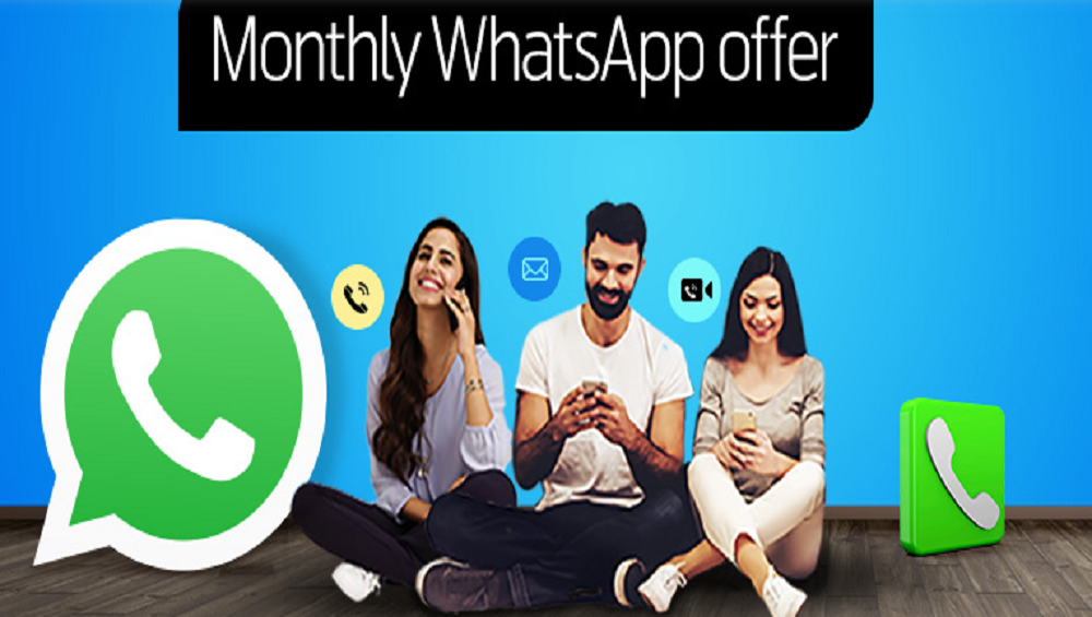 Enjoy Telenor Monthly WhatsApp Package at Rs. 5 incl. Tax