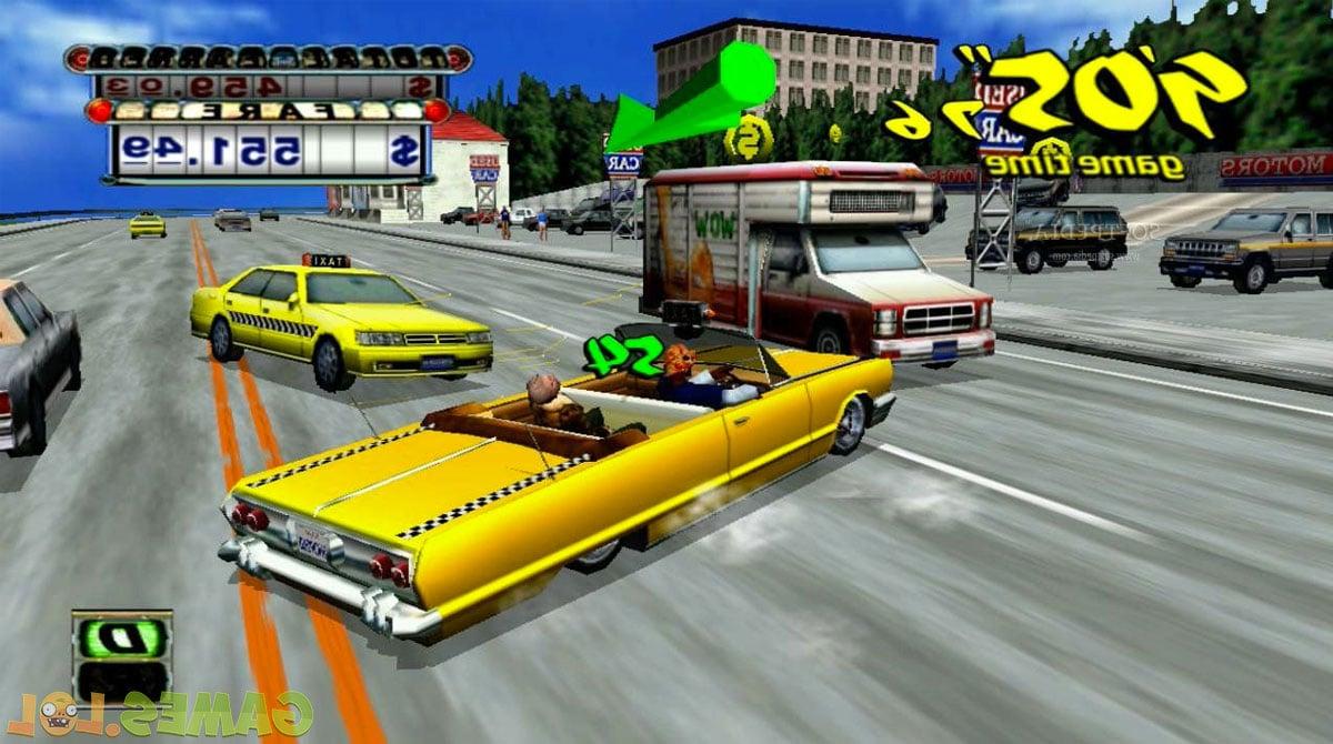 Crazy Taxi Driver: