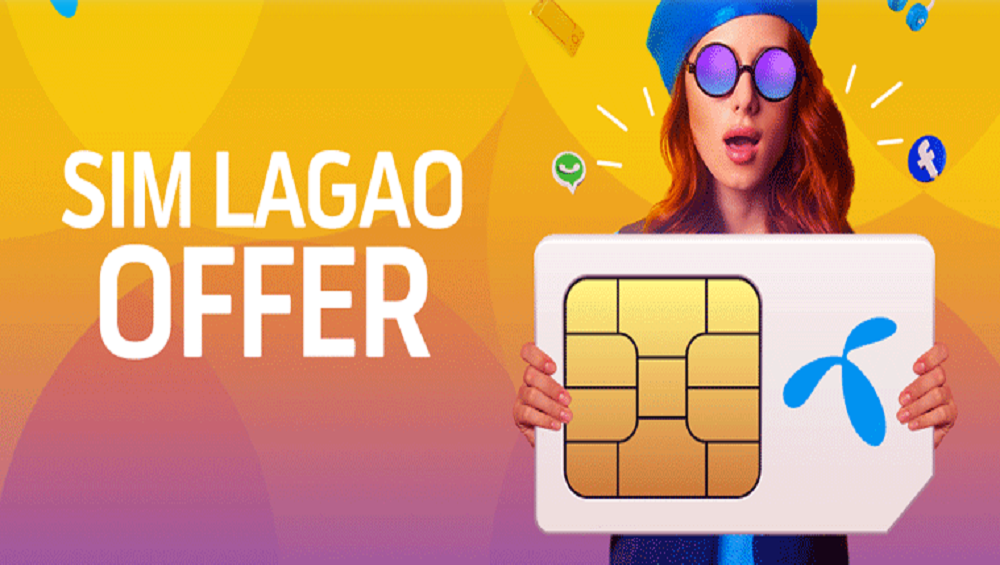 Get More Fun with Telenor Sim Lagao Offer