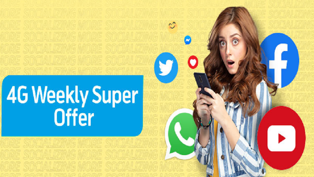 Get More With Telenor 4G Weekly Super Offer