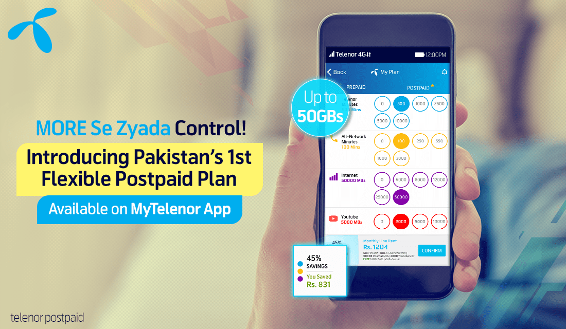 Flexible Postpaid Plan Telenor