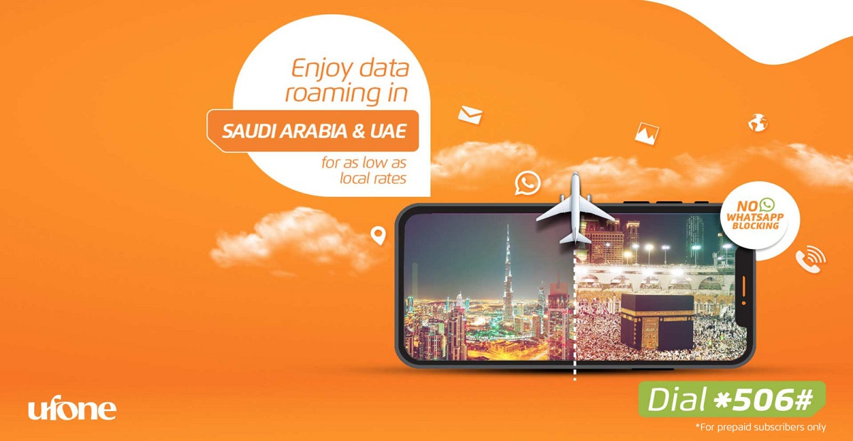 Ufone KSA Data Roaming Bucket- A Perfect Travel Companion