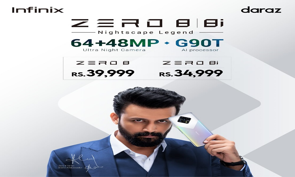 Photo of World's first 48MP Dual Selfie & 64MP Quad Rear Camera Introduced with Infinix Zero 8